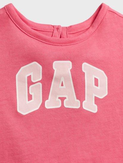 Gap Dojenčki Obleka Logo v-g drs