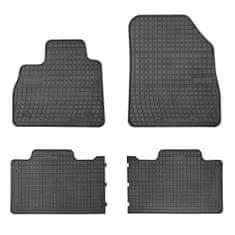 MAMMOOTH Gumové koberce, Renault Espace V (SUV) 02.2015,černá, sada 4 ks