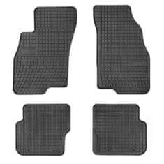 MAMMOOTH Gumové koberce, Fiat Punto, Punto Evo (Liftback) 07.2008, černá, sada 4 ks