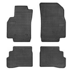 MAMMOOTH Gumové koberce, Chevrolet Spark, Opel Karl (Liftback) 01.2015,černá, sada 4 ks