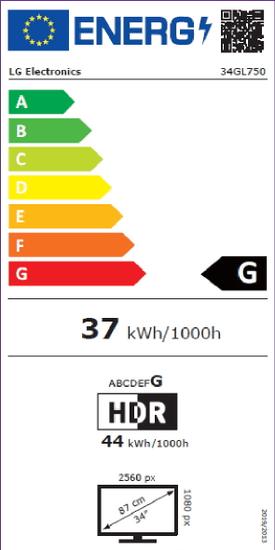 LG 34GL750 (34GL750-B.AEU)