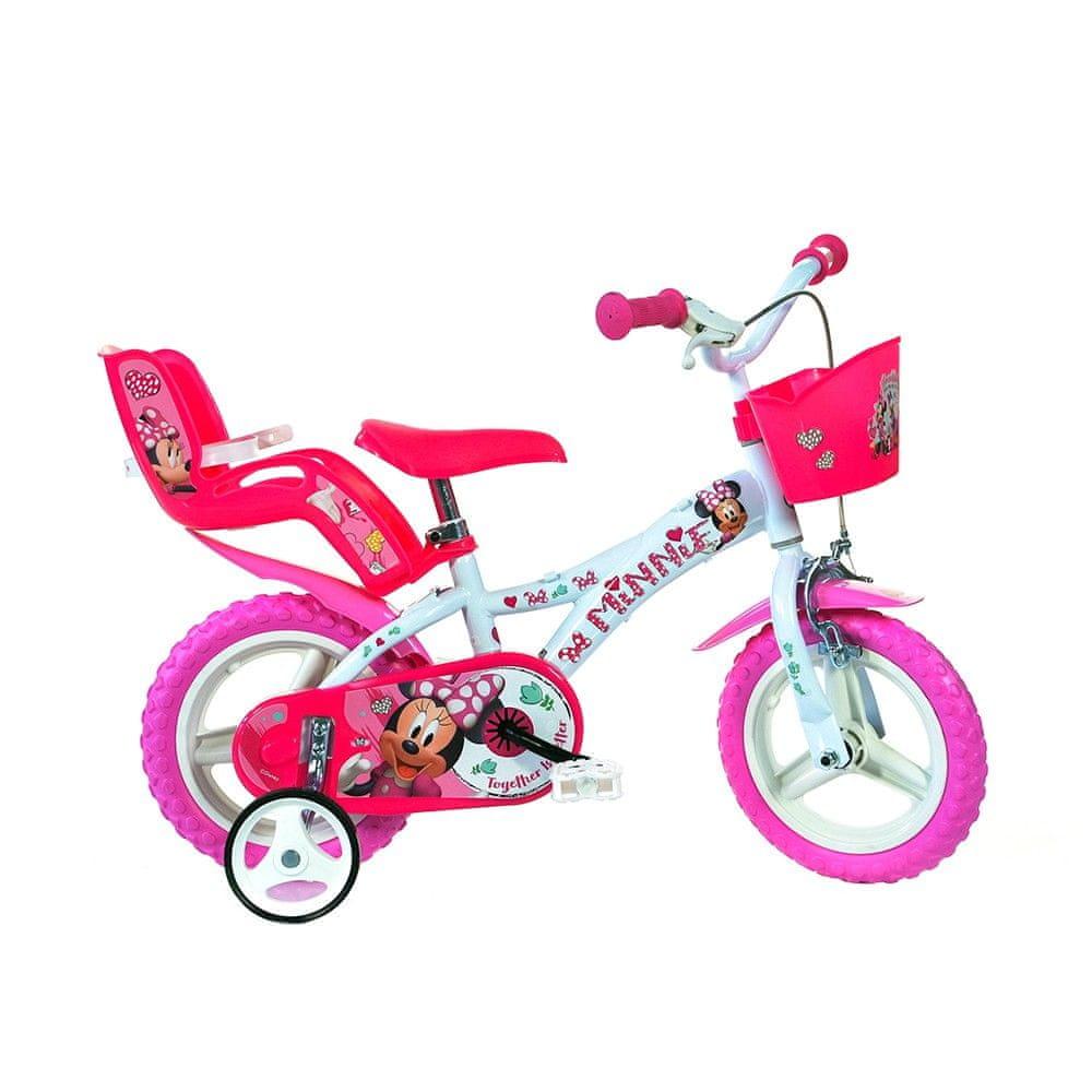"""Dino bikes Dívčí kolo Minnie 16"""" - zánovní"""
