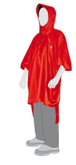 Tatonka Poncho 2 (M-L) red