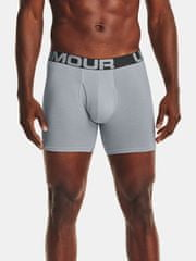 Under Armour Boxerky UA Charged Cotton 6in 3 Pack-GRY XXL