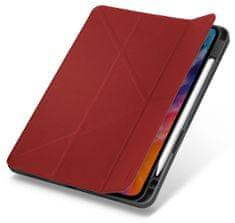 """UNIQ TRANSFORMA RIGOR ochranné puzdro pre iPad Air 10,9"""" (2020) antibakteriálne, červeno-sivé (UNIQA-NPDA10.9 (2020) -TRIGRED)"""