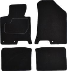 MAMMOOTH Koberce textilní, Hyundai i40 (Sedan) od 03.2012 černá, sada 4 ks