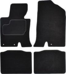 MAMMOOTH Koberce textilní, Kia Optima (Sedan) od 09.2010 černá, sada 4 ks