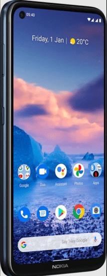 Nokia 5.4 pametni telefon, 4GB/64GB, moder
