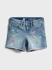 Gap Otroške Jeans Kratke hlače midi - med vntg emb 8