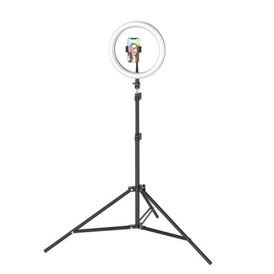 Blitzwolf SL2 Selfie Ring krožka LED svetloba 10'' + stativ 1.6m + bluetooth remote