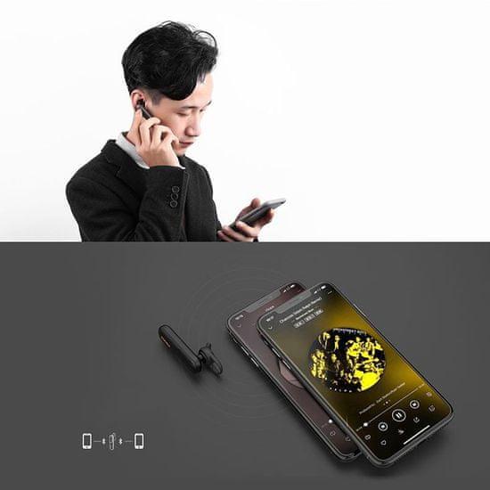 Proda Bluetooth Handsfree slušalka, bela