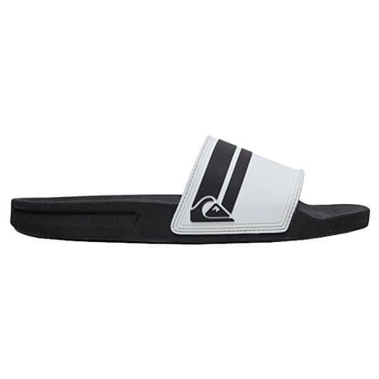 Quiksilver Férfi papucsRivi Slide White/Black/White AQYL100867-XWKW