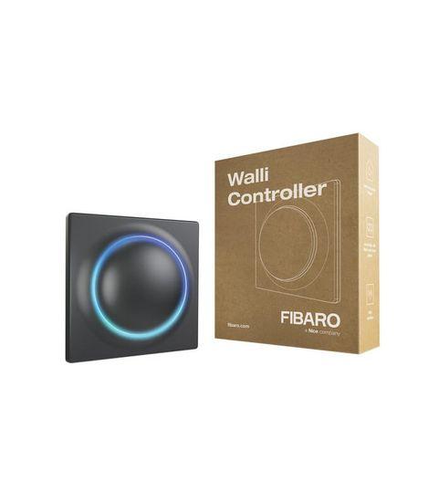 FIBARO Nástenný ovládač scén - FIBARO Walli Controller Anthracite (FGWCEU-201-8)