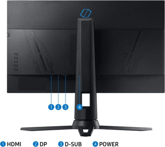 Samsung Odyssey G3 gaming monitor (LF24G35TFWUXEN)