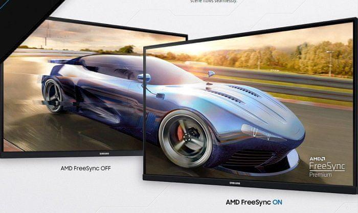 monitor Samsung Odyssey G5 (LC27G55TQWUXEN) synchronizacja fps AMD FreeSync Premium