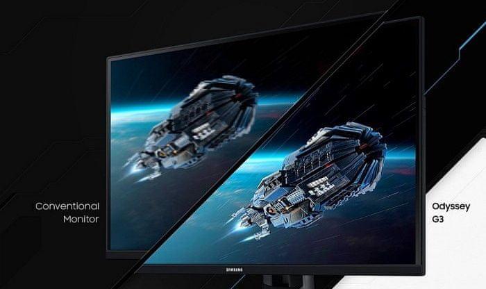 monitor Samsung Odyssey G5 (LC27G55TQWUXEN) HDR10 250 nitów jasność wysoki zakres dynamiczny