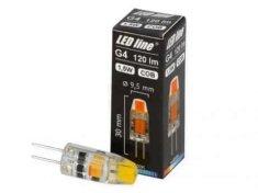 LED LINE LED sijalka G4 1,5 W toplo bela