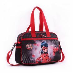 Miraculous Ladybug naramna torba Pikapolona, 38 x 12 x 27 cm