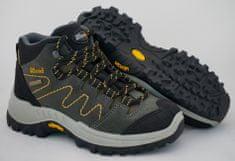 Grisport Grisport 9369 otroški polvisoki treking čevlji, siva, 27