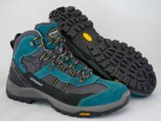 Grisport Moški polvisoki treking čevlji 14407, temno zeleni/sivi, 45