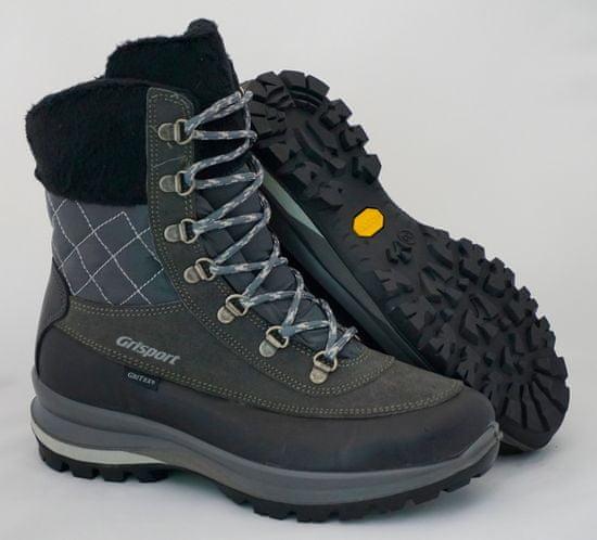 Grisport  Temno sivi 14121 ženski visoki treking škornjii