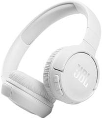 JBL Tune 510BT brezžične slušalke, bele