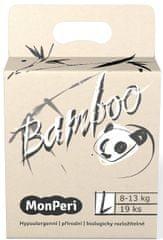 MonPeri pieluchy Bamboo L, 8-13 kg (19 szt.)
