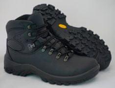 Grisport Črni 11407 unisex polvisoki treking čevlji , 47