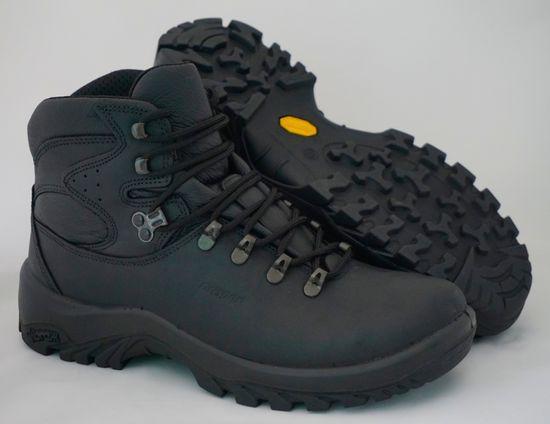 Grisport Črni 11407 unisex polvisoki treking čevlji