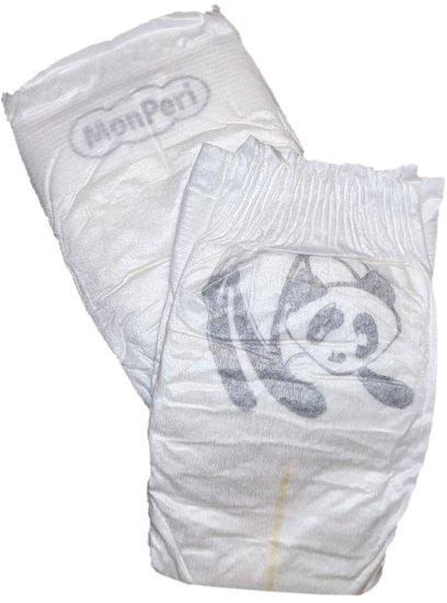 MonPeri Bamboo M, 5-9 kg (21 ks)