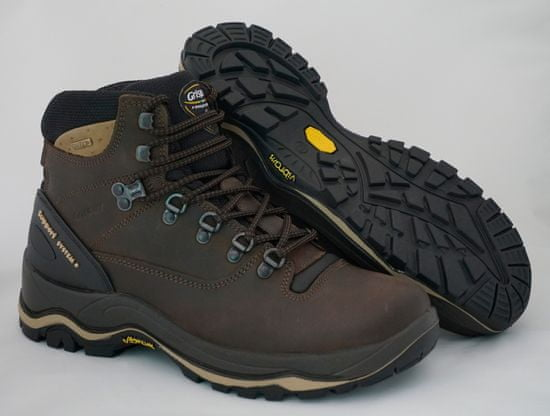 Grisport Lynx 11205 temno rjavi unisex polvisoki treking čevlji
