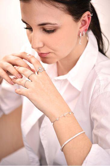 Troli Minimalistaaranyozott acélgyűrű Gold