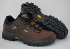Grisport Badger 10309 temno rjavi unisex nizki treking čevlji , 36