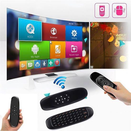 Air Mouse brezžična miška + tipkovnica, Android multimedijski daljinec, Nano USB