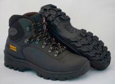 Grisport Temno rjavi moški polvisoki treking čevlji Buffalo 10242 , 47