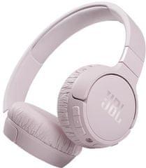 JBL Tune 660NC brezžične slušalke, roza