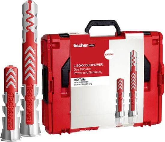 Fischer Sada hmoždinek DuoPower L-boxx - 910ks