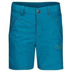 Jack Wolfskin fantovske kratke hlače Sun Shorts Kids 1605613, 116, modre
