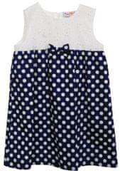 Topo dívčí šaty 2-10434-854 68 tmavě modrá