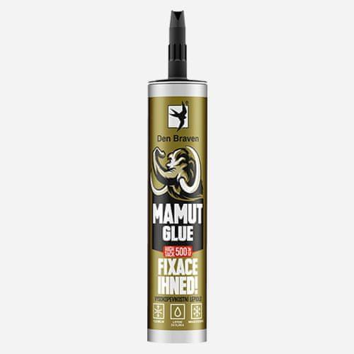 Den Braven MAMUT GLUE High Tack, kartuše 290 ml, černá