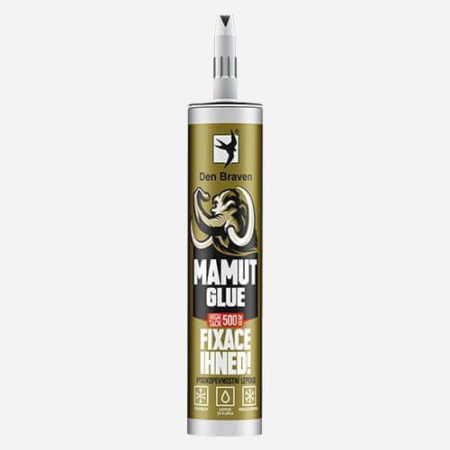 Den Braven MAMUT GLUE High Tack, kartuše 290 ml, bílá