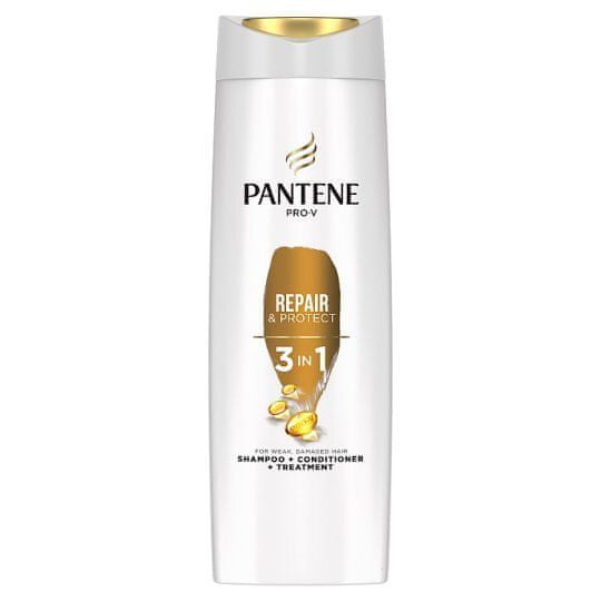 Pantene Pro-V Šampon za poškodovane lase 3 v 1 ( Intensive Repair Shampoo + Conditioner + Treatment)