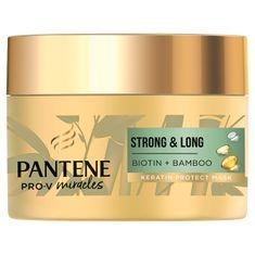 Pantene Pro-V Hajhullás elleni maszk Miracles Biotin + Bamboo (Keratin Protect Mask) (Mennyiség 160 ml)