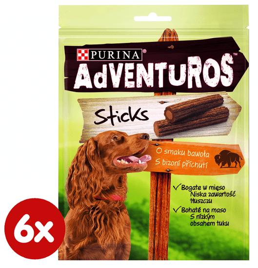 Adventuros Sticks 6 x 120 g