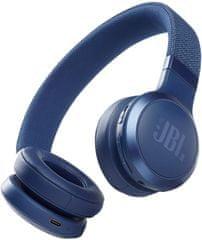JBL Live 460NC brezžične slušalke, modre