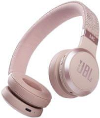 JBL Live 460NC bežične slušalice, ružičaste