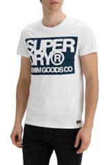 Superdry Tričko Denim Goods Co Print Tee XXL