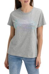 Superdry Majica Vl Stitch Sequin Entry Tee M