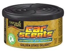 California Scents Vůně Car Scents kulatá Golden State Delight 42g