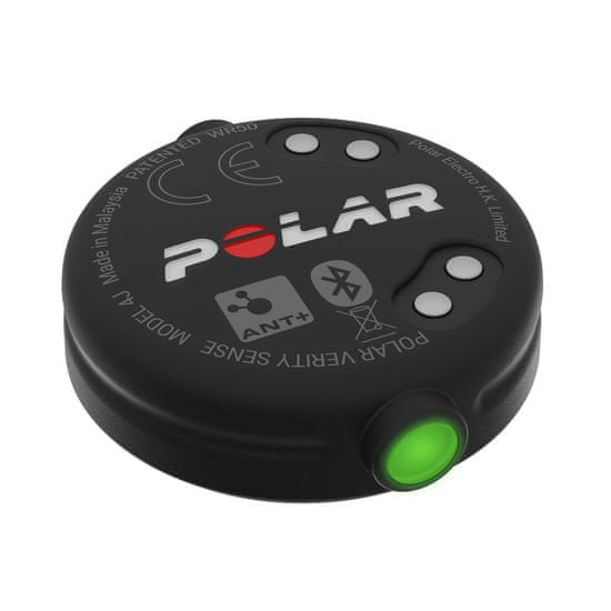 Polar Verity Sense senzor optičnega merjenja srčnega utripa, siv, M-XXL